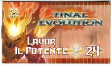 GORMITI  - FANBUK -  FINAL EVOLUTION - LAVOR - IL POTENTE