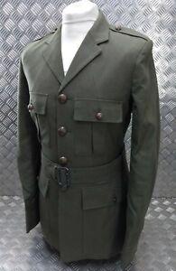 Genuine British Royal Marines RM Lovat Dress Jacket & Cloth Belt 188/116/100cm