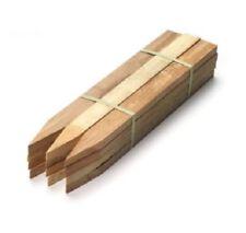 Survey Timber Pegs Hardwood Ground Marking Stake 300mm x 50mm x 25mm 12Pk