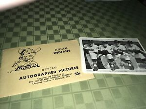 Cleveland Indians 1962 Baseball Picture Pack Set of 21 WEnvelope