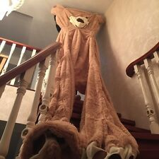 Huge Giant super Semi-finished Teddy Bear Skin(without cotton ) 135''+fast ship