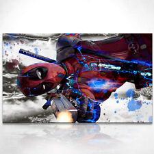 Deadpool Marvel Fantasy Bild auf Leinwand Kunst Bilder Wandbilder Modern D0789