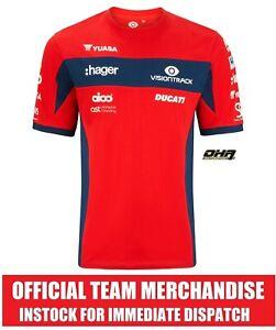 PBM VisionTrack DUCATI Superbike BSB Official Team T-Shirt T - NEW Brookes V4R