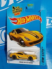 Hot Wheels 2015 Street Power Series #21 Ferrari 599 GTB Fiorano Yellow