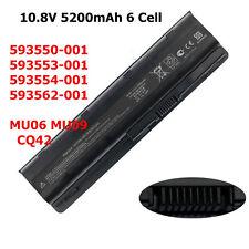 6 Cell Battery 593553-001 For HP CQ42 MU09 G62t Pavilion dm4-1065dx dv7-6000 US