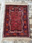 125x90cm   Vintage Afghan Maldari Baloch Prayer Rug, best Maldari thaimani Rug