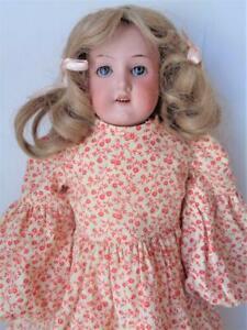"20"" Antique Armand Marseille FLORADORA A.M. 3/0 German Bisque Doll Human Hair"