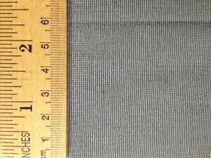 """Mosquito no-see-um netting/net 54"""" wide x 10 yards long, color black, by Skeeta"""