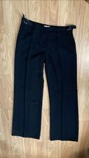Ladies Emporio Armani Wide Leg Trousers Size 12 EU42