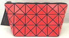 BAOBAO ISSEY MIYAKE Vermilion/Red Pouch from Japan BB53-AG411-24 Geniune