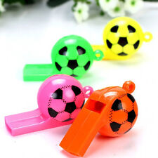 5X Football Soccer Whistle Birthday Party Wedding Loot Children Kid Toys Fillers