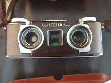 Vintage Kodak Stereo Camera with Leather Case + Strap