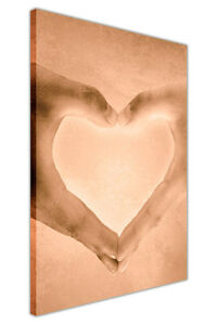 LOVE HANDS ROMANTIC CANVAS ART HOME DECORATION WALL PRINTS ARTWORK PICTURES GIFT