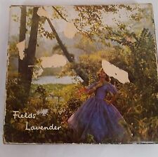Sealed  FIELDS OF BOND STREET Lavender Fields Talc Powder & 3 Soaps