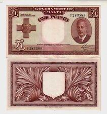 Malta 1 lira 1949 - 1951  FDS unc   pick 22     lotto 2498