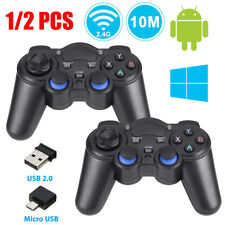 2.4G Wireless Controller Gaming Gamepad Joystick for PC TV Tablet Android Phones