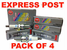 NGK SPARK PLUGS SET ZFR5FIX-11 X 4 - FORD COURIER PD PE PG PH HOLDEN BARINA