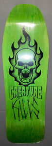 Creature Skateboard Deck Bonehead Kills 10.0X31.3 Santa Cruz  Old School Shape