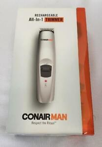 -= Conair Man Rechargeable All-In-1 Trimmer Personal Care Tool GMT189R NEW