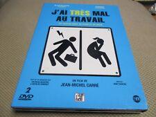 """COFFRET 2 DVD """"J'AI TRES MAL AU TRAVAIL"""" documentaire de Jean-Michel CARRE"""