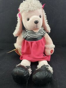 Chantilly Lane Fifi Poodle Plush In Poodle Skirt musical  -tested works has tag
