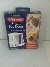 PetSafe Staywell 2-Way Small Pet Door White 715EF