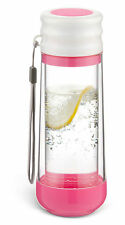 Drinkadeux™ Gulp-Double-Wall Insulated Portable Bottle. Pink WOW!