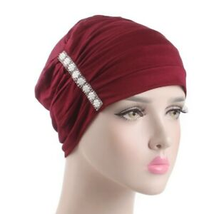 Muslim Women Beanies Hijab Inner Caps Turban Head Wrap Cover Chemo Hats Arab