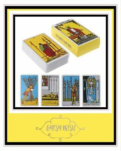 THE RIDER-WAITE TAROT DECK BRAND NEW (Electronic Guidebook)