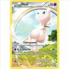Pokemon Card Mew Full Art XY110 Generations Promo