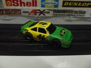 TYCO DAYS OF THUNDER COLE TRICKLE #46 CITY CHEVY 440-X2 WIDE CHASSIS HO SLOT CAR