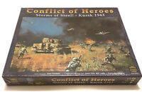 CONFLICT OF HEROES Storms of Steel! KURSK 1943 Strategy War Game *SEE PICTURES*