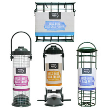 Value bird feeders selection, SEED NUT SUET CAKE FAT BALL singles or bundles