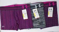 """UNDER ARMOUR WOMEN'S HEATGEAR COMPRESSION 3"""" PRINTED SHORTY # 1270723-NWT"""