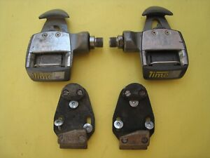 Time Equipe Pro Titanium Pedals Road Bike clipless + cleats /hardware