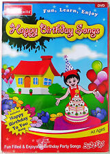 Happy Birthday Songs DVD by Infobells New / Sealed 2013