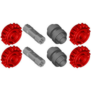Lego 8x Genuine Technic Clutch Gear Shifter (Makes 2 Sets) 18946 18947 42195 NEW