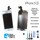 NEW LCD & Digitiser Touch Screen Fully Assembled with Parts FOR iPhone 5S WHITE