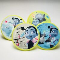 Vampirina Cupcake Toppers Rings Birthday Party Favors - Set of 16