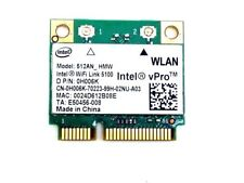 Intel 512AN_HMW 802.11n WiFi Link 5100 PCI-E Mini pcie half Card Dual Band