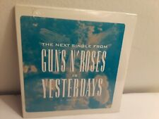 Guns N' Roses ‎– Yesterdays (Promo CD Single, 1992, Geffen) New