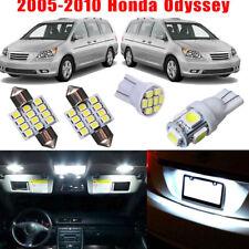 18Pcs For Honda Odyssey 2005-2010 Car Interior LED Light Bulb Package Kit White