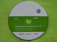 CD NAVIGATION GROßBRITANNIEN IRLAND FX 2012 V4 VW RNS 310 SEAT 2. SKODA AMUNDSEN