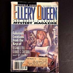 ELLERY QUEEN'S Mystery Magazine OCTOBER 1993 Double