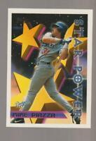 1996 Topps Star Power #2 Mike Piazza card, New York Mets HOF