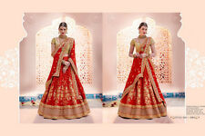 Indian Pakistani Bollywood Ethnic Saree Sari Long Gown Dres Lehenga Choli Ghagra