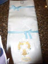 Vintage Irish Linen Tablecloth Gold Medal Brand 66 x 84 Damask Unused Lovely