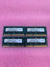 LOT OF 4 HYNIX 4GB 2Rx8 PC3-8500S-7-10-F2 HMT351S6AFR8C-G7 N0 AA SODIMM