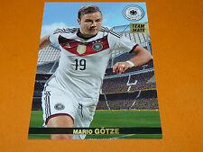 MARIO GÖTZE DEUTSCHLAND BAYERN  2015 PANINI FAMILY FOOTBALL UEFA EURO 2016
