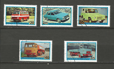 1975 véhicules roumain Roumanie 5 timbres anciens oblitérés /T4330